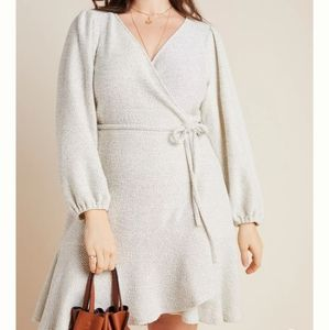 Anthropologie Knit Midi Dress NWOT